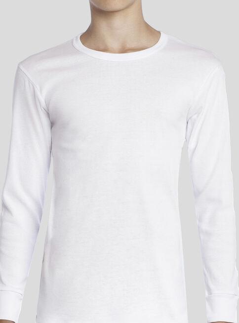 Camiseta%20Algod%C3%B3n%20Cuello%20Polo%20Manga%20Larga%20T10-12-14-16%20Tais%2CBlanco%2Chi-res