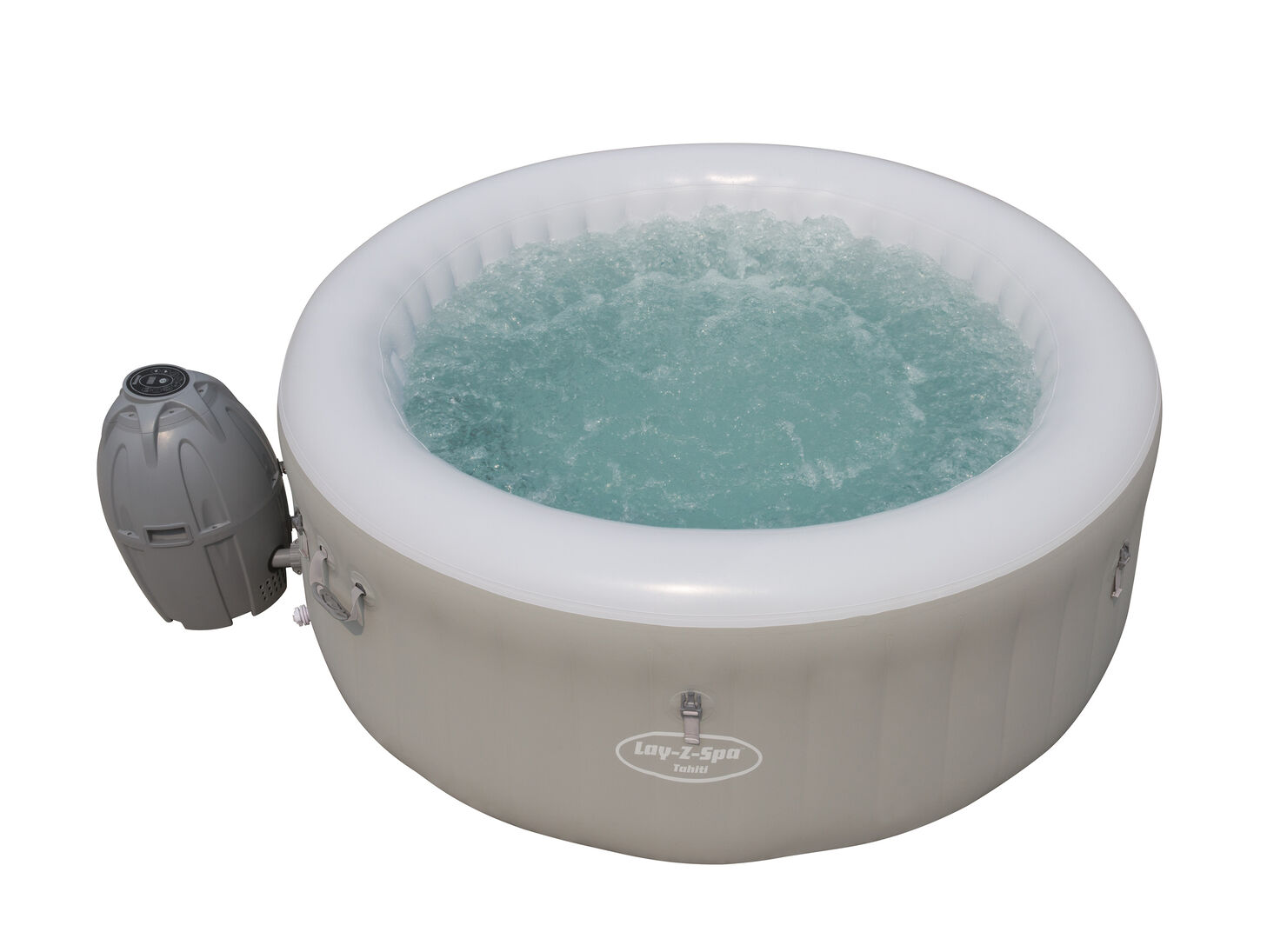 Jacuzzi Inflable Para 2 Personas.Spa Inflable Tahiti Airjet Lay Z Bestway 2 A 4 Personas