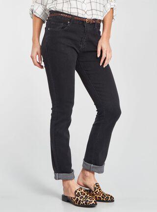 Jeans Recto Viaressa,Negro,hi-res