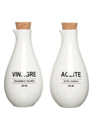 Set Alcuza Aceite y Vinagre Attimo,,hi-res