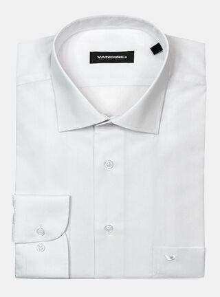 Camisa Slim Fit LM 34-35 Cuello Bolognia Vandine,Blanco,hi-res
