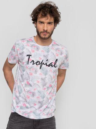 Polera Tropical Unlimited,Marfil,hi-res