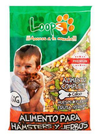 Alimento Hamster Loops Todas las Etapas 1 kg,,hi-res