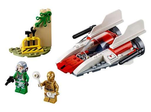 Lego%C2%AE%20Star%20Wars%20Caza%20Estelar%20Rebelde%20A-Wing%2C%2Chi-res