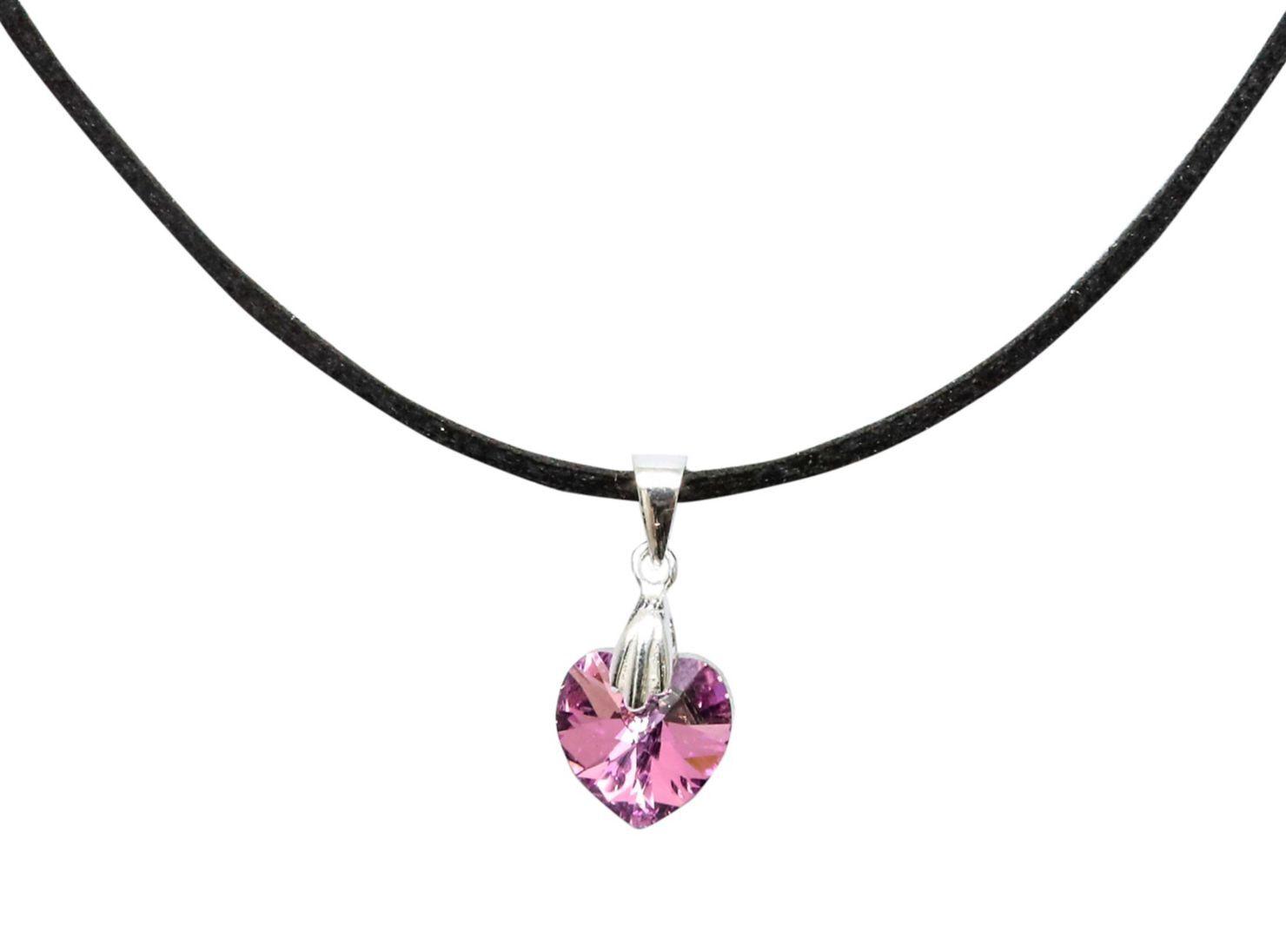 e81a376d37d0 Collar Colgante Moskatel Corazón Cristal Swarovski Vitrail Light en ...