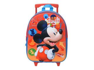 Mochila Ruedas Mickey Mouse Escolar Niño,,hi-res