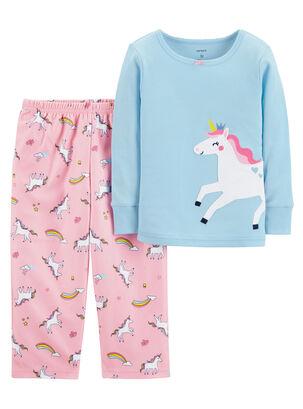 428a3ec1fe Pijama 2 Piezas micropolar Niña 2 A 4 Años Carter s