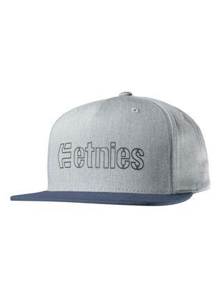 Jockey Corporate 5 Snapback Hat Etnies,Gris,hi-res