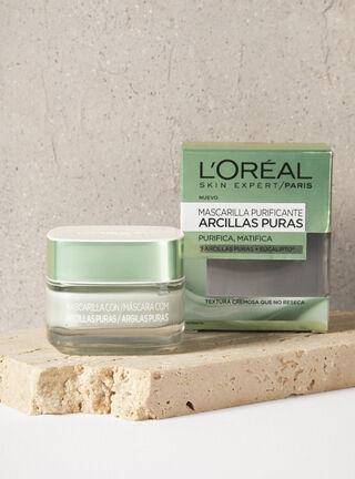Mascarilla Arcillas Facial Pure Clay Purificante/Matificante Dermoexpertise,,hi-res