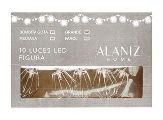 10 Luces Led Figura Grande Alaniz Home,,hi-res