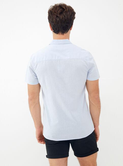 Camisa%20Manga%20Corta%20Lino%20Lisa%20Alaniz%2CCeleste%2Chi-res