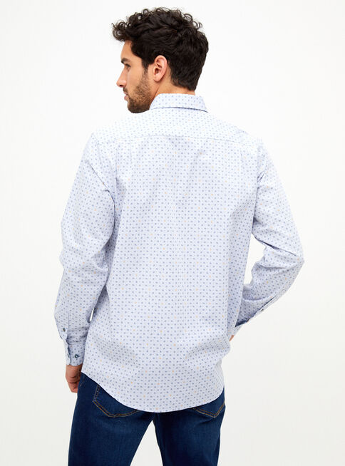 Camisa%20Flores%20Micro%20Dise%C3%B1o%20Greenfield%2CAzul%2Chi-res