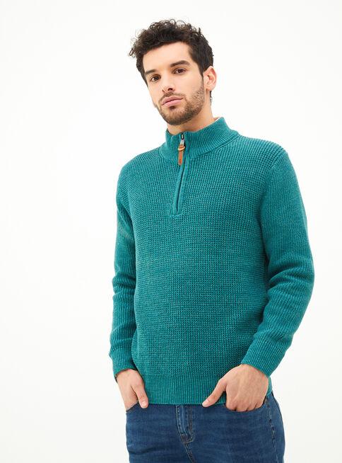 Sweater%20Algod%C3%B3n%20Half%20Zipper%20%20Greenfield%2CVerde%20Olivo%2Chi-res