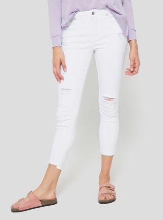 Jeans Destroyed Foster,Blanco,hi-res