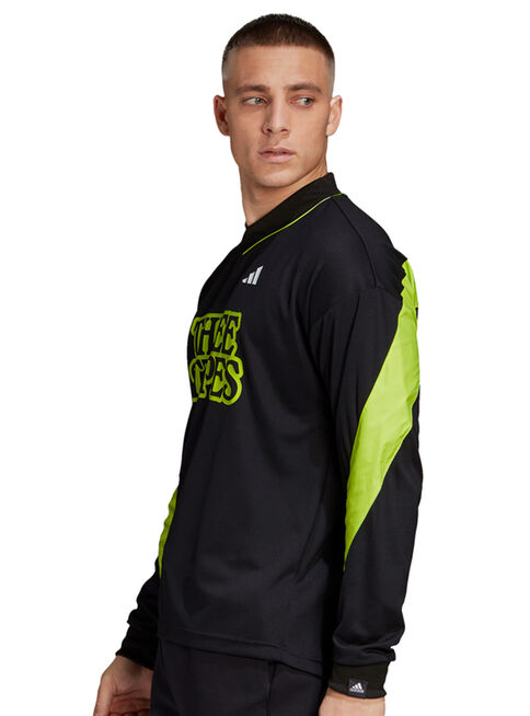 Camiseta%20Adidas%20Relaxed%20Fit%20Goalie%20Hombre%2CNegro%2Chi-res