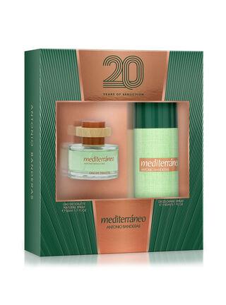Set Perfume Antonio Banderas Mediterraneo 50 ml + Desodorante 150 ml,,hi-res