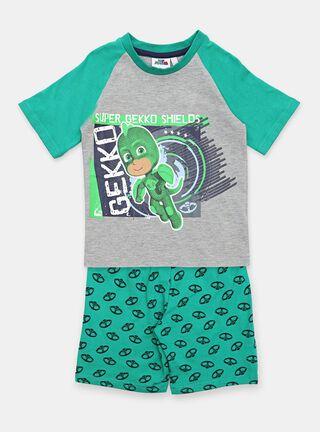Pijama Pj Masks Super Niño,Verde Olivo,hi-res