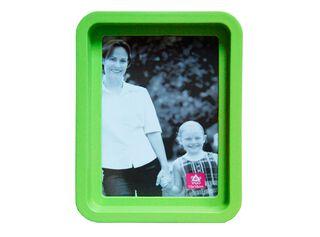 Marco de Fotos Plástico Redondo Attimo 10 x 15 cm,Verde,hi-res