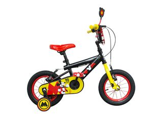 Bicicleta MTB Lahsen Mickey Edición Especial 90 Años Aro 12,Negro,hi-res