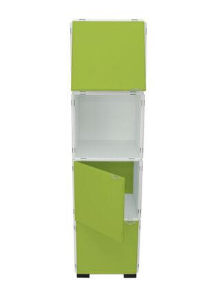 Mueble Modular Set 20 Piezas Blanco Verde Kab Möbel,,hi-res