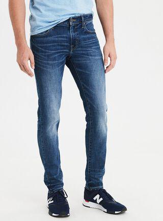 Jeans Skinny Ne(X)T Level American Eagle,Azul Petróleo,hi-res