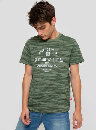 Polera Jaspeada Gravity,Verde,hi-res