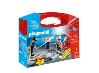 Maletín Cuartel de Bomberos Playmobil,,hi-res
