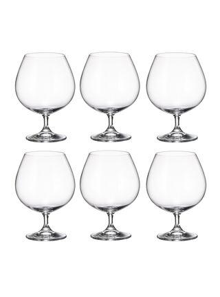 Set 6 Copas Bohemia Cognac,,hi-res