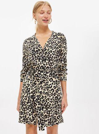 Vestido Animal Pj Shirt Topshop,Único Color,hi-res