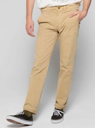 Pantalón Slim Fit Colors Unlimited,Café Claro,hi-res