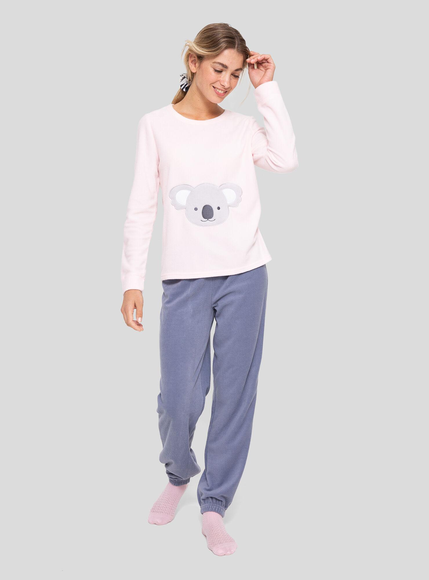 b5b51bb5d6 Pijama Polar Panda Opposite - Opposite