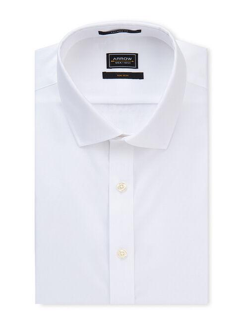Camisa%20Non%20Iron%20Dise%C3%B1o%20Liso%20Blanco%20Arrow%2CBlanco%2Chi-res