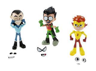 Pack 3 Figuras Teen Titans Go Dc Shoes,,hi-res