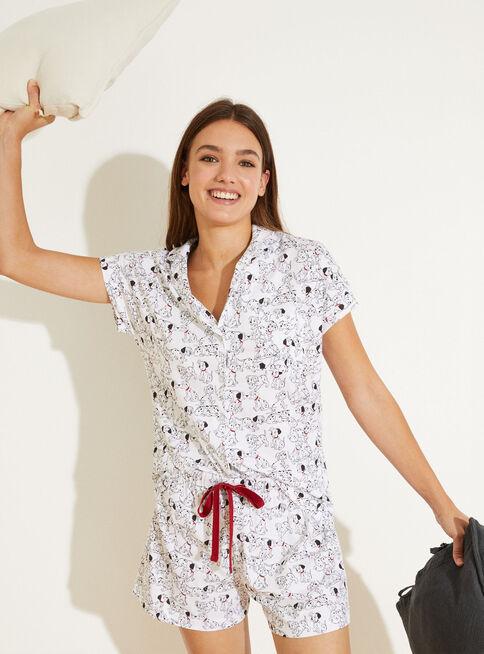 Pijama%20Corto%20Masculine%20101%20Dalmatians%20Women'%20Secret%20%2CGris%20Perla%2Chi-res
