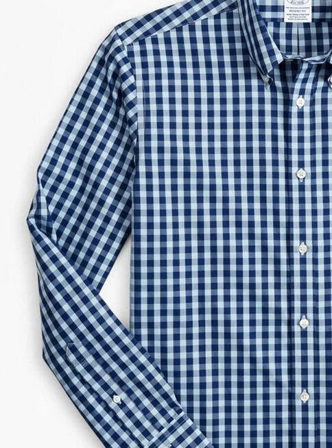 Camisa%20Cuadros%20Azul%20Bot%C3%B3n%20Brooks%20Brothers%2CAzul%20Marino%2Chi-res