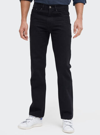 Jeans Corte Regular Rainforest,Negro,hi-res