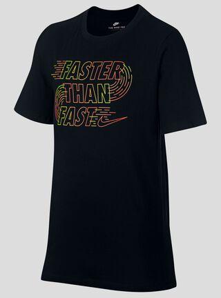 Polera Nike Sportswear T-Shirt Niño,Negro,hi-res