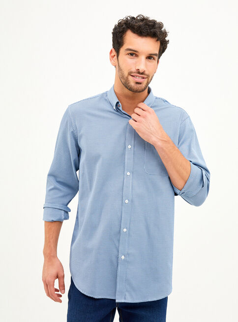 Camisa%20Manga%20Larga%20Mini%20Cuadros%20Greenfield%2CAzul%2Chi-res
