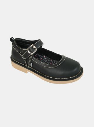 Zapato Colloky Reina Escolar Niña,Negro,hi-res