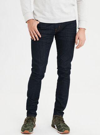 Jeans Skinny Flex American Eagle,Azul Oscuro,hi-res