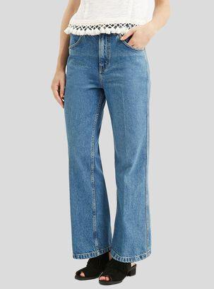 ab5dc1fdee Jeans Wide Leg Mid Denim L 30 Topshop