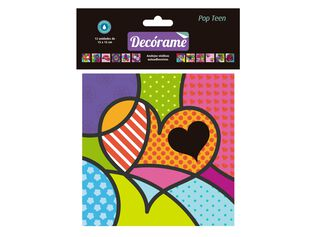 Pack Adhesivos Vinil Pop Teen Decórame 15 x 15 x 15 cm,,hi-res