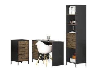 Combo Optimus Escritorio + Gabinete + Estante Favatex,,hi-res