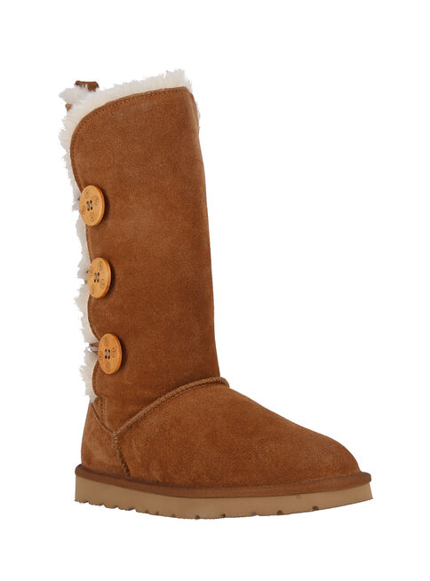 Bota%20Bamers%20%20Button%20High%20Leather%20%20Mujer%2CBeige%20Oscuro%2Chi-res