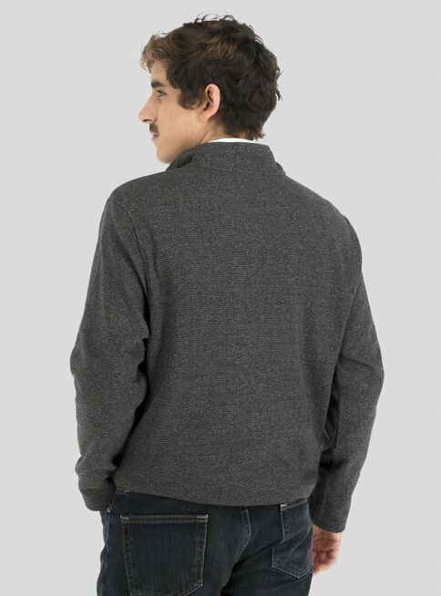 Sweater%20Never%20Tuck%20Zipper%20Van%20Heusen%2CNegro%20Mate%2Chi-res
