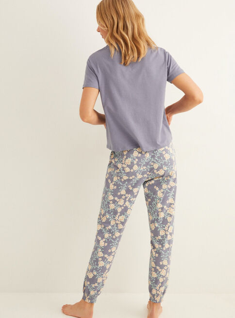 Pijama%20Algod%C3%B3n%20Floreado%20Daily%20Prairie%20Women'Secret%2CAzul%20Petr%C3%B3leo%2Chi-res