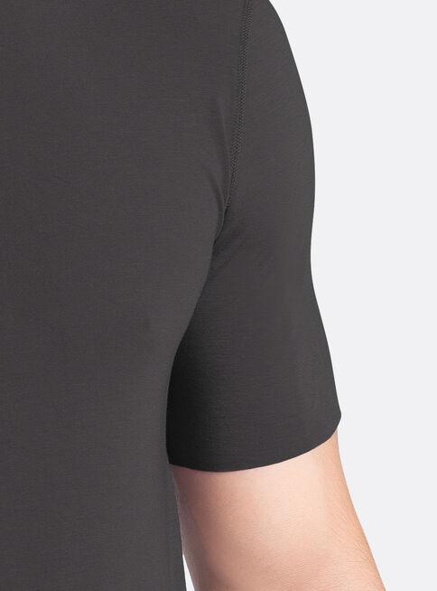 Camiseta%20Manga%20Corta%20Modal%20Mota%2CNegro%2Chi-res