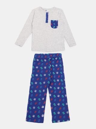 Pijama Tribu Estampado Espacial Niño,Ceniza,hi-res