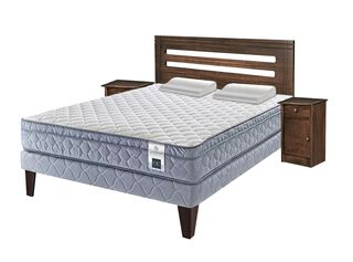 Box Americano Essence 5 2 Plazas CIC + Set Munich + Almohadas Viscoelásticas,,hi-res