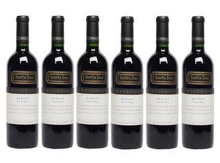 Vino Reserva Merlot, Santa Ema. Caja 6 Unidades,,hi-res